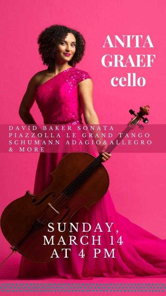 Anita Graef, cello