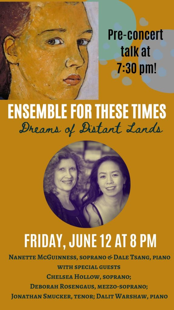 Ensemble for These Times - Friday, June 12 at 8 pm