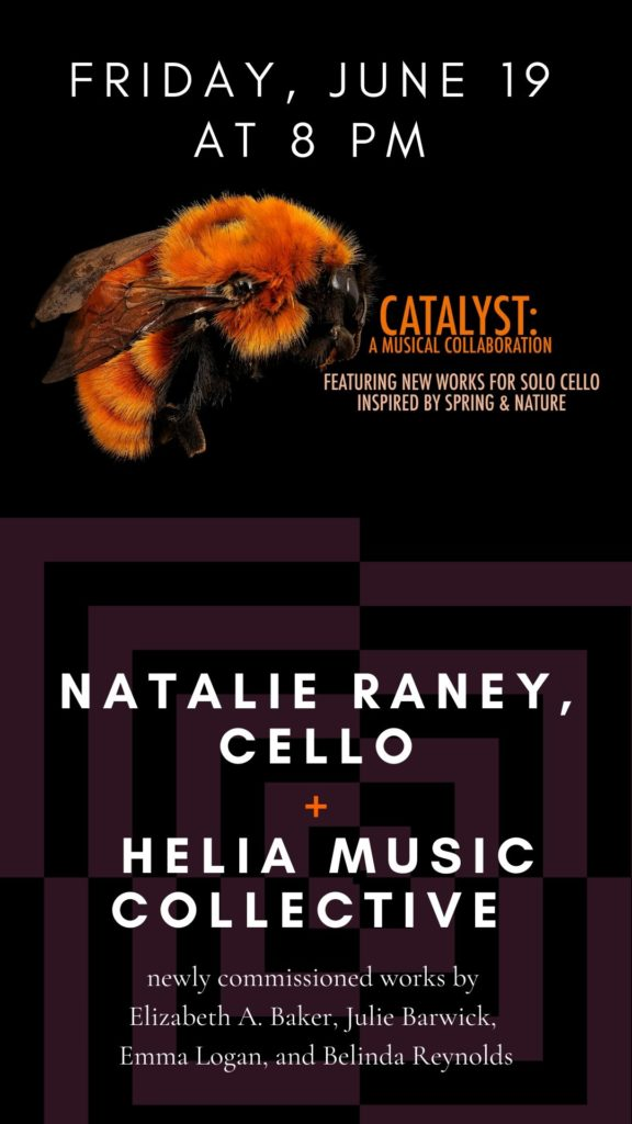 Natalie Raney, cello - Friday, June 19 at 8 pm