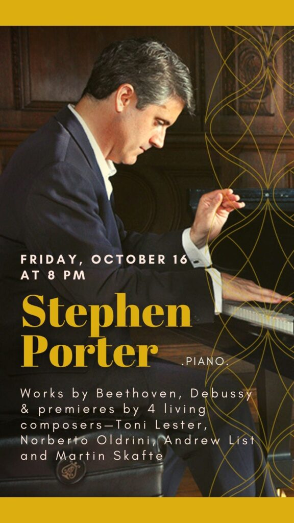 Stephen Porter, Piano