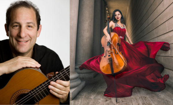 Lawrence Ferrara & Shiqi Li - Friday, December 7 at 8 pm