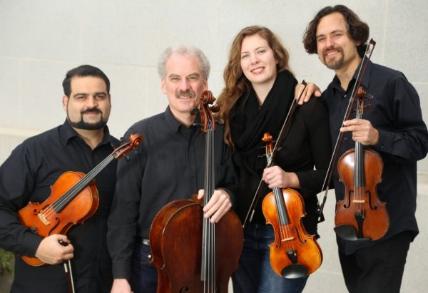 Circadian String Quartet - Sunday, January 6 at 4 pm