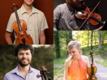 Friction Quartet with Sarah Cahill - Friday, August 16 at 8 pm