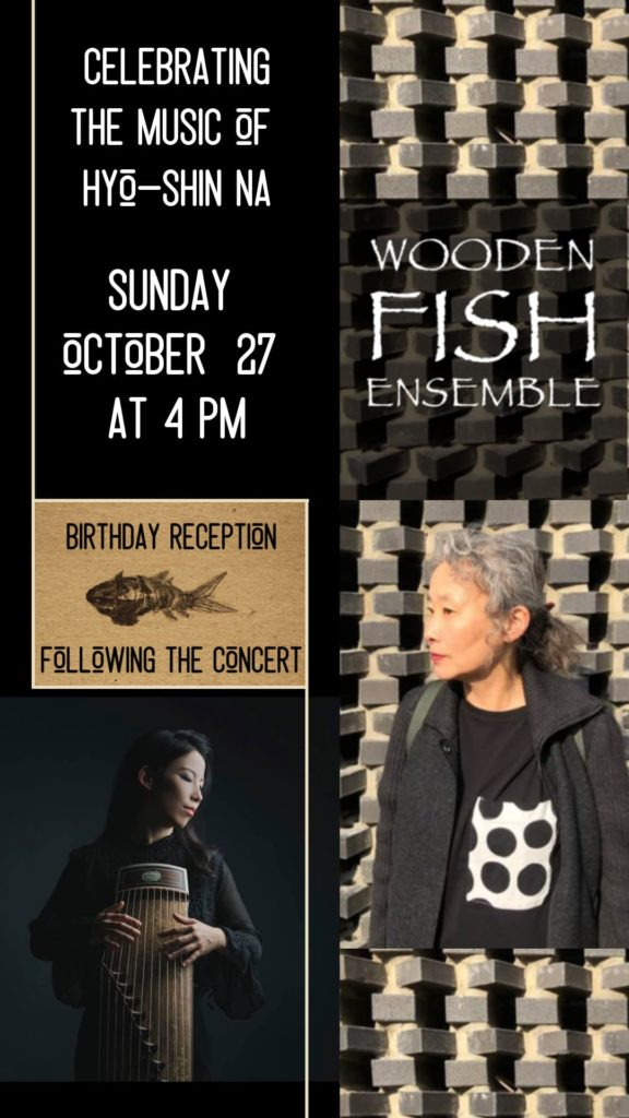 Wooden Fish Ensemble - Sunday, October 27 at 4 pm