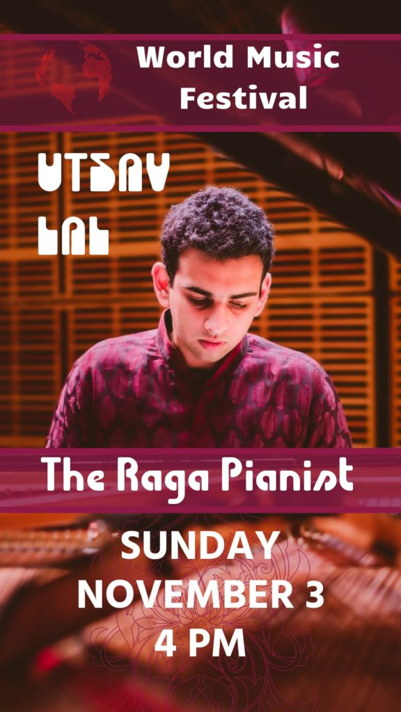 Utsav Lal, the Raga Pianist