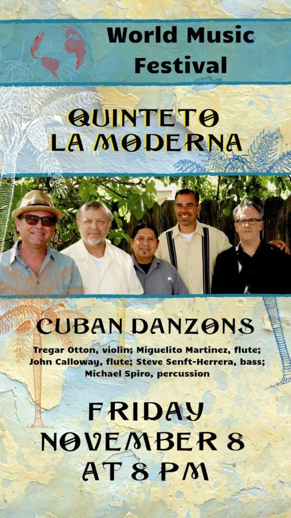 Quinteto La Moderna plays Cuban Danzons