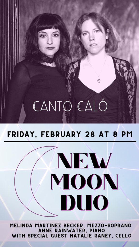 New Moon Duo - Friday, Feb 28 at 8 pm