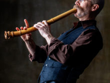 Cornelius Boots, shakuhachi - Friday, June 26 at 8 pm