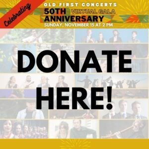 Donate to Old First Concerts